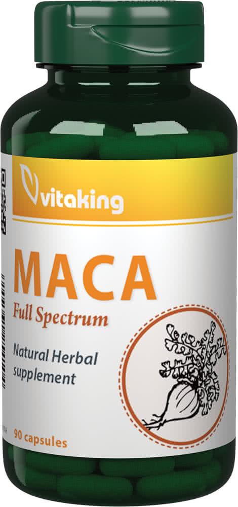 VitaKing Maca Full Spectrum 90 caps.