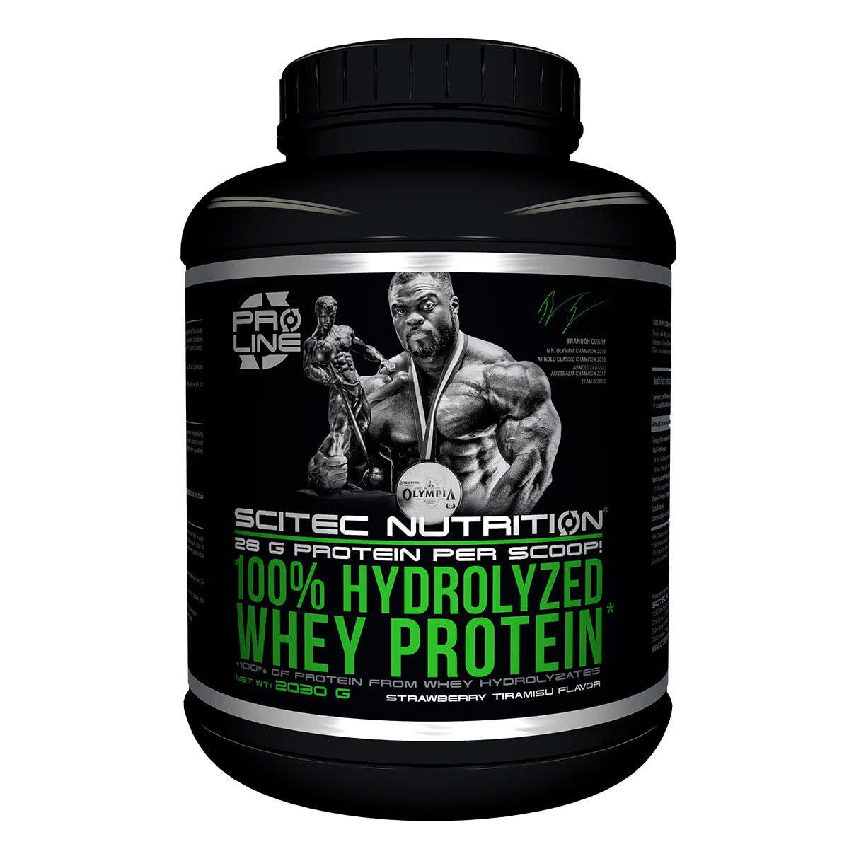Scitec Nutrition 100% Hydrolyzed Whey Protein 2,03 kg