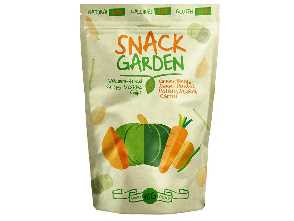 Alte suplimente nutritive Snack Garden Veggie Mix 40 gr.