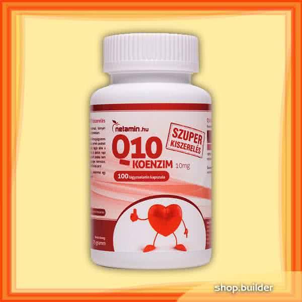 Netamin Q10 Coenzyme 10mg 100 caps.
