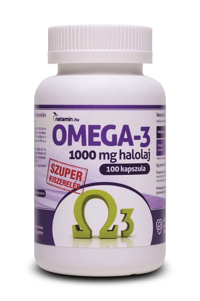 Netamin Omega-3 100 caps.
