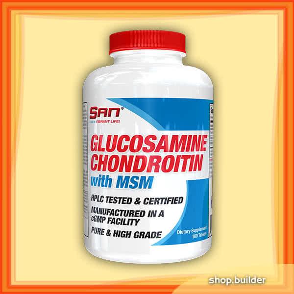 San Glucosamine Chondroitin with MSM 90 tab.