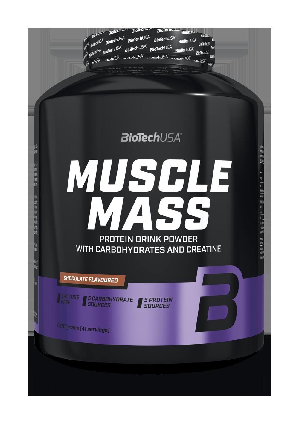 BioTech USA Muscle Mass 2,27 kg