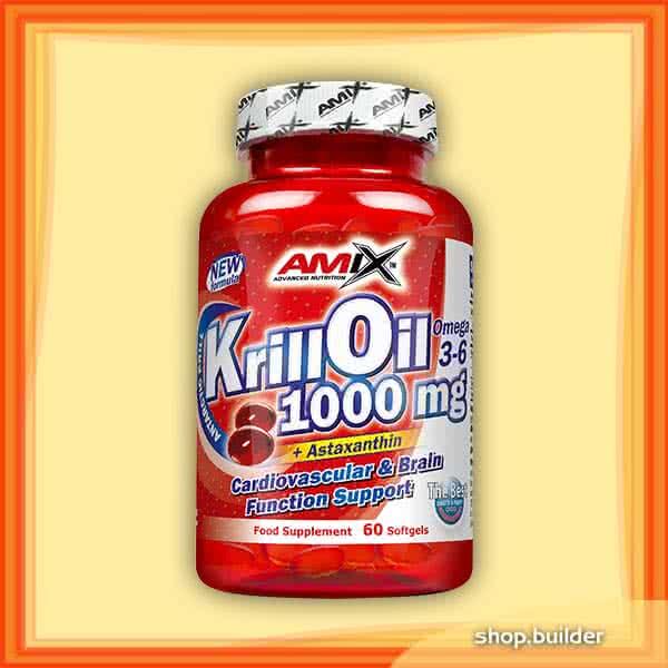 Amix Krill Oil 60 caps.