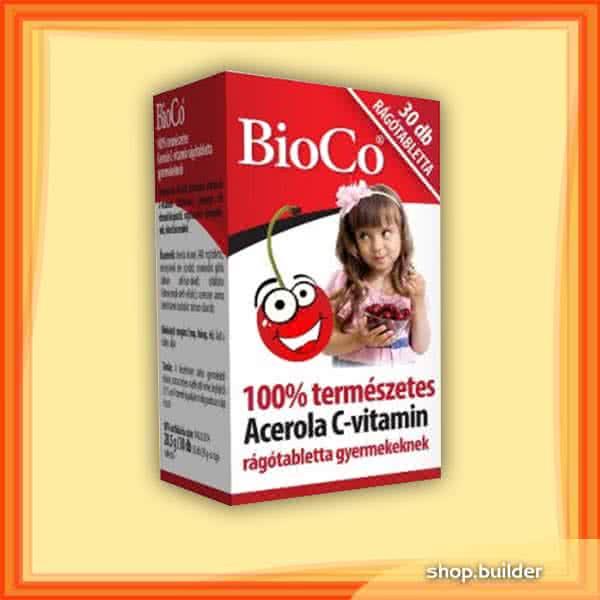 BioCo Acerola Vitamin-C 30 tabl. de mest.