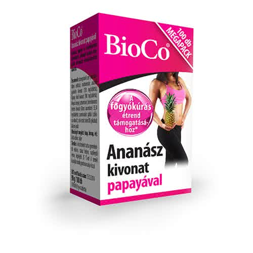 BioCo Pineapple with papaya 100 tab.