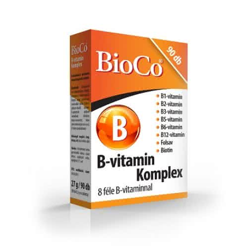 BioCo Vitamin B-Complex 90 tab.