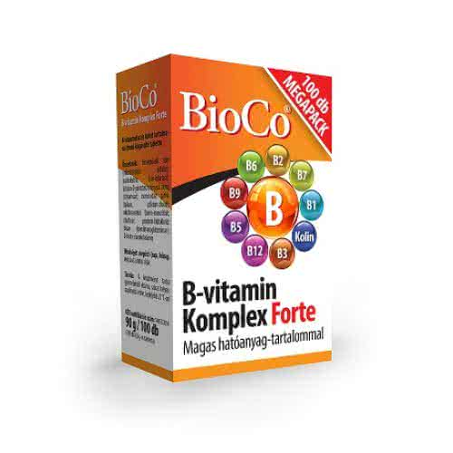 BioCo Vitamin B-Complex Forte 100 tab.