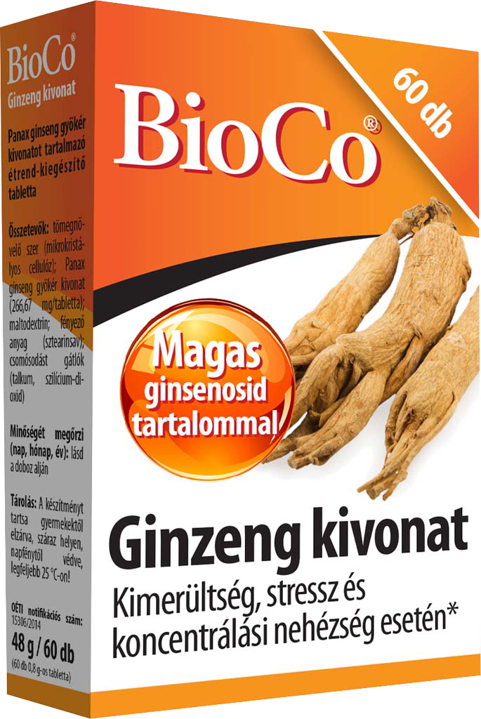 BioCo Ginseng extract 60 tab.