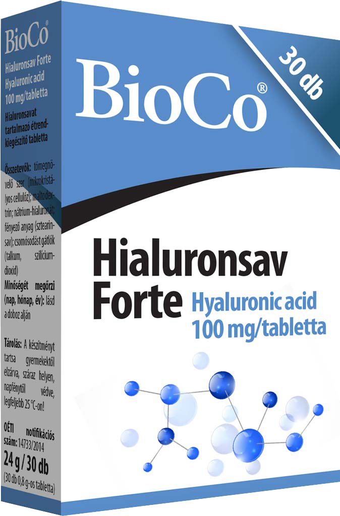 BioCo Hyaluronic acid Forte 30 tab.