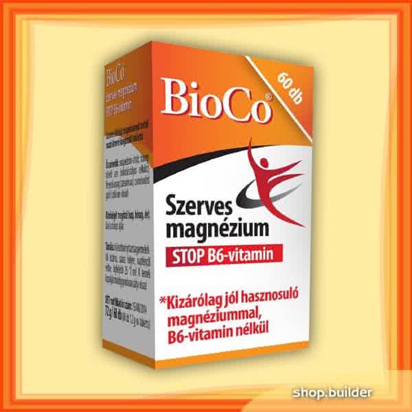 BioCo Magnesium STOP B6 60 tab.