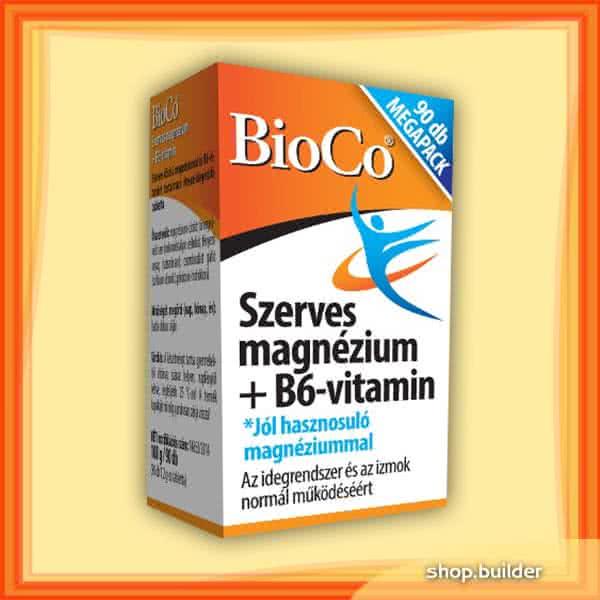 BioCo Magnesium + B6 90 tab.