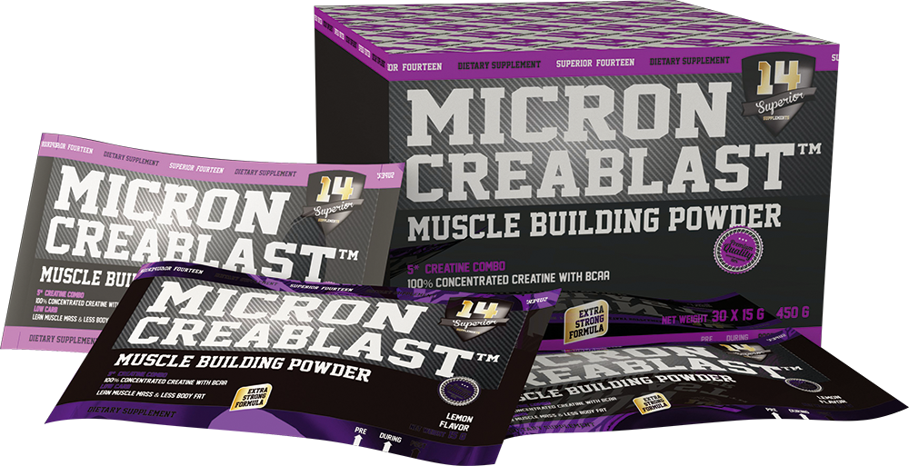 Superior 14 Micron CreaBlast 30x15 g