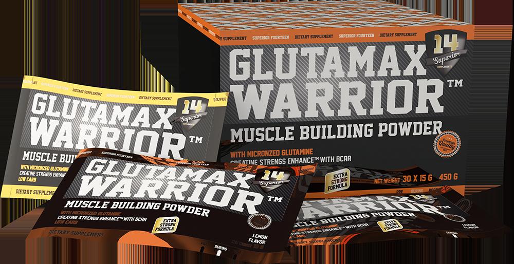 Superior 14 Glutamax Warrior 30 pac.