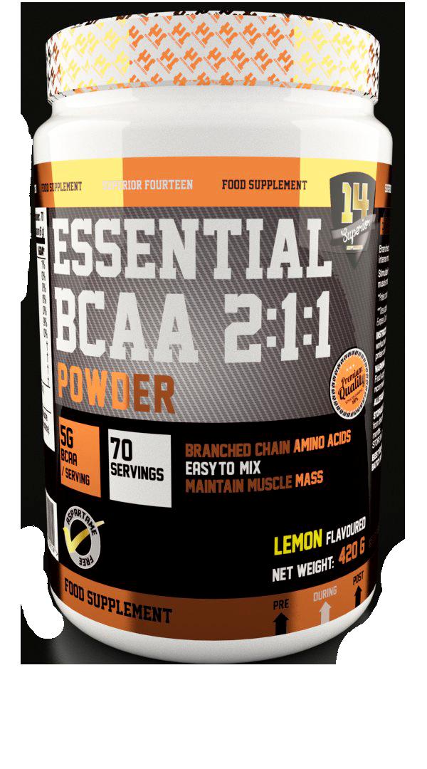 Superior 14 BCAA Essential 2:1:1 420 gr.