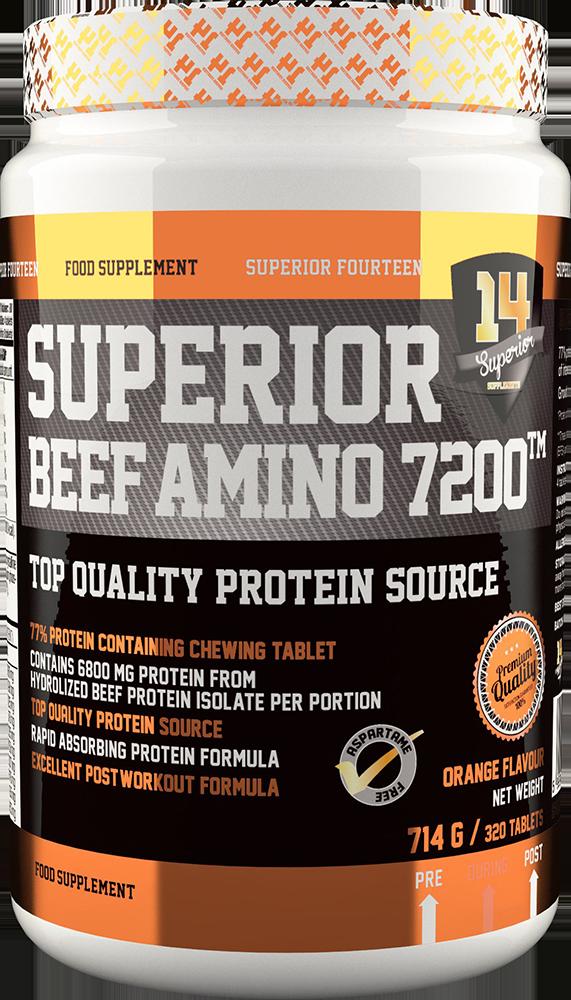 Superior 14 Beef Amino 7200 320 tab.