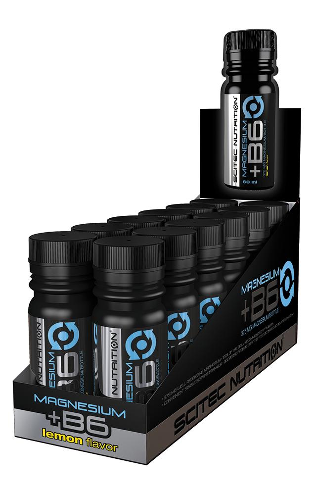 Scitec Nutrition Magnesium+Vitamin B6 Shot 12x60 ml.