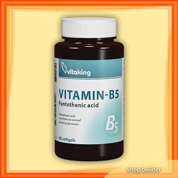 VitaKing Vitamin B5 90 caps.