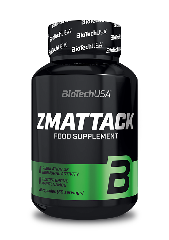 BioTech USA ZMAttack 60 caps.