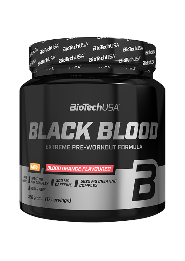 BioTech USA Black Blood NOX+ 330 gr.
