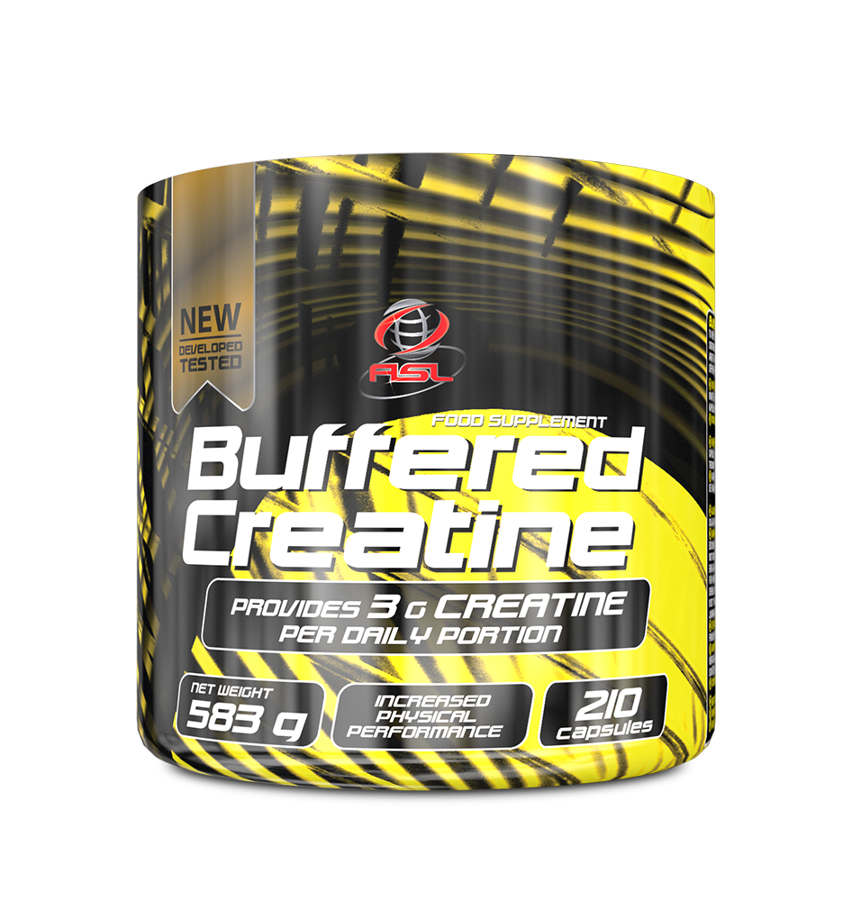 AllSports Labs Buffered Creatine 210 caps.