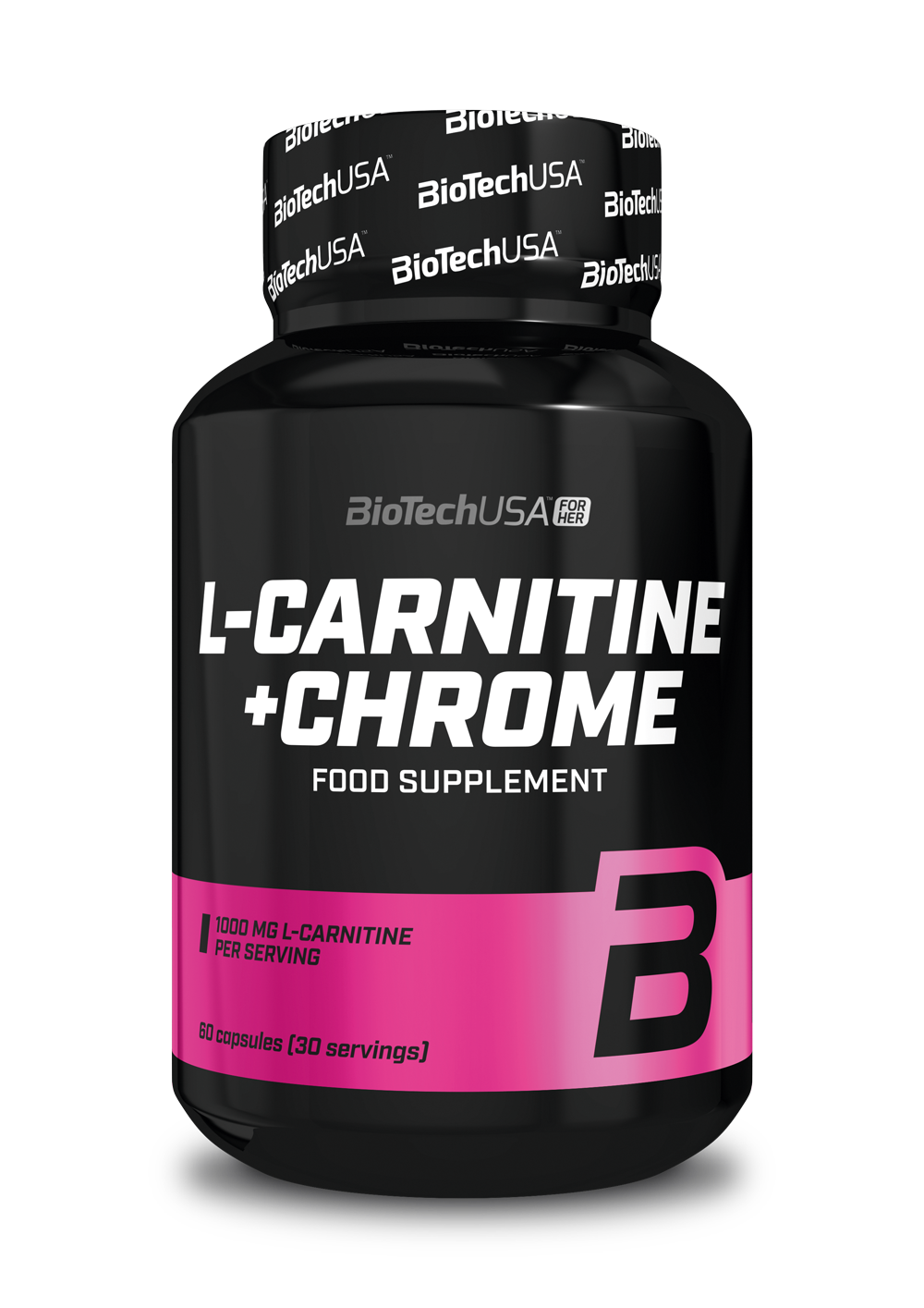 BioTech USA L-Carnitine + Chrome 60 caps.