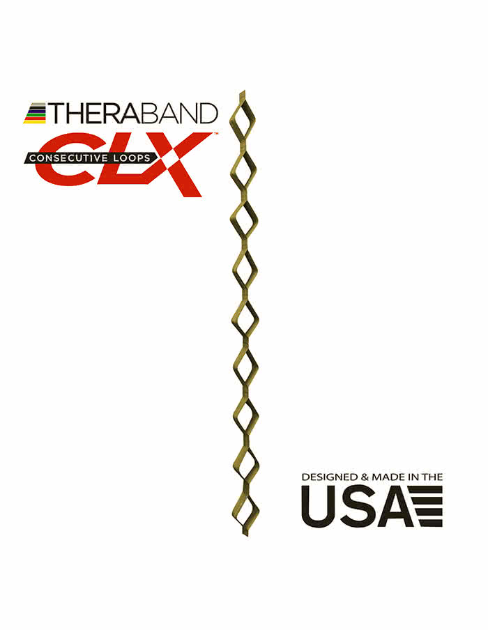 Thera Band Theraband CLX 2,2m (the strongest)