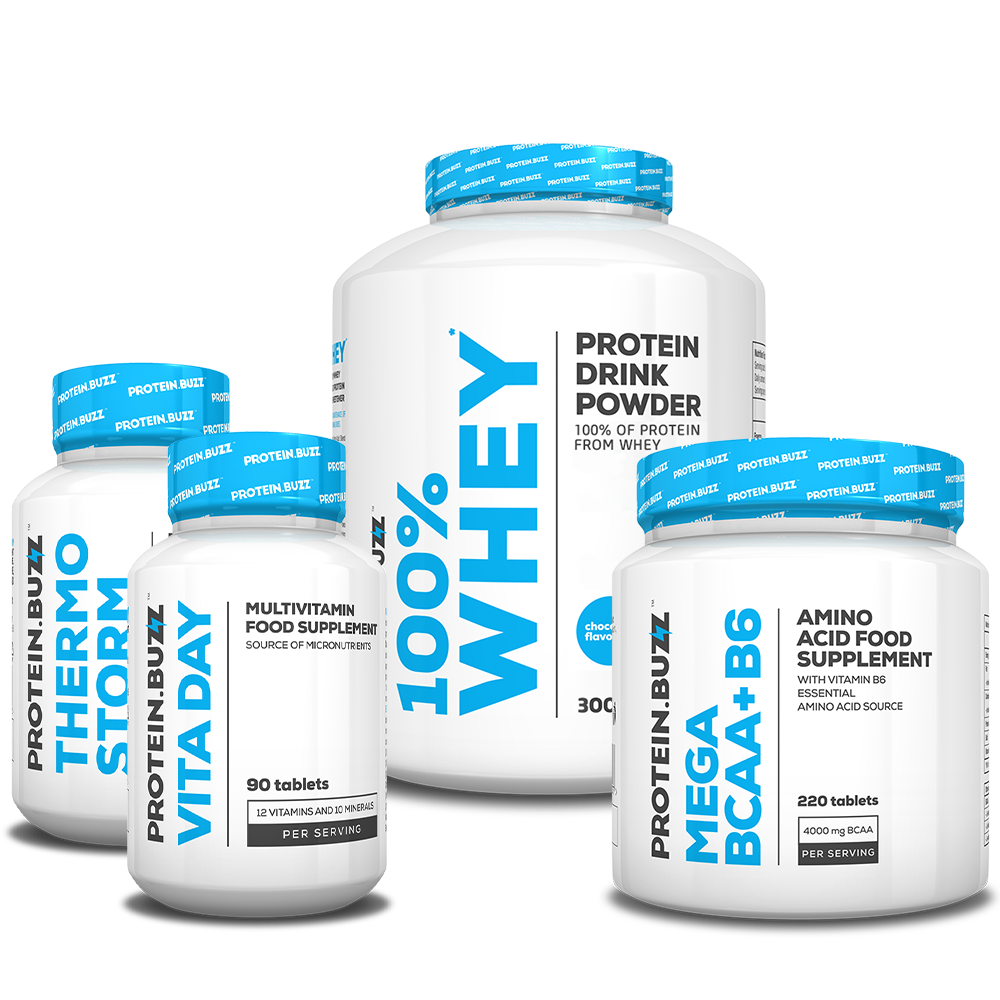 Protein Buzz Get Tones Stack set