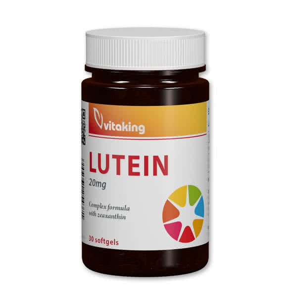 VitaKing Lutein 30 caps.
