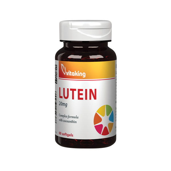 VitaKing Lutein 60 caps.