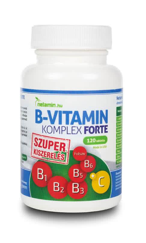 Netamin Vitamin B-Complex Forte 120 tab.