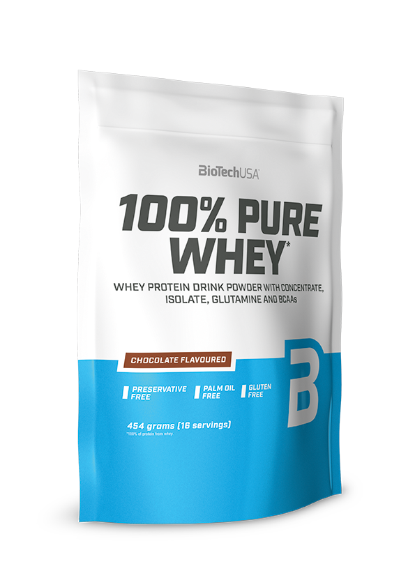 BioTech USA 100% Pure Whey 0,454 kg