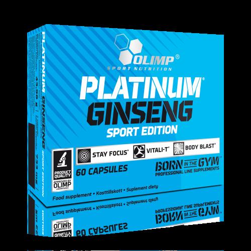 Olimp Sport Nutrition Platinum Ginseng Sport Edition 60 caps.