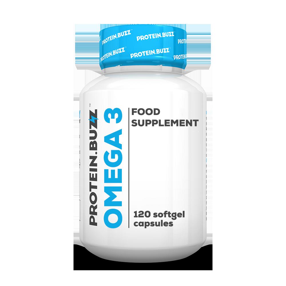 Protein Buzz Omega 3 120 caps.