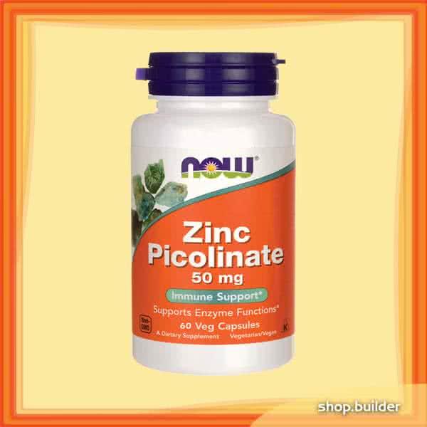 Now Foods Zinc Picolinate 50mg 60 caps.