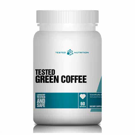 Tested Nutrition Green Coffee 60 caps.
