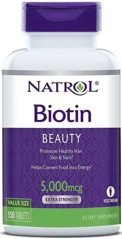 Natrol Biotin Beauty (5.000 mcg) 150 tab.