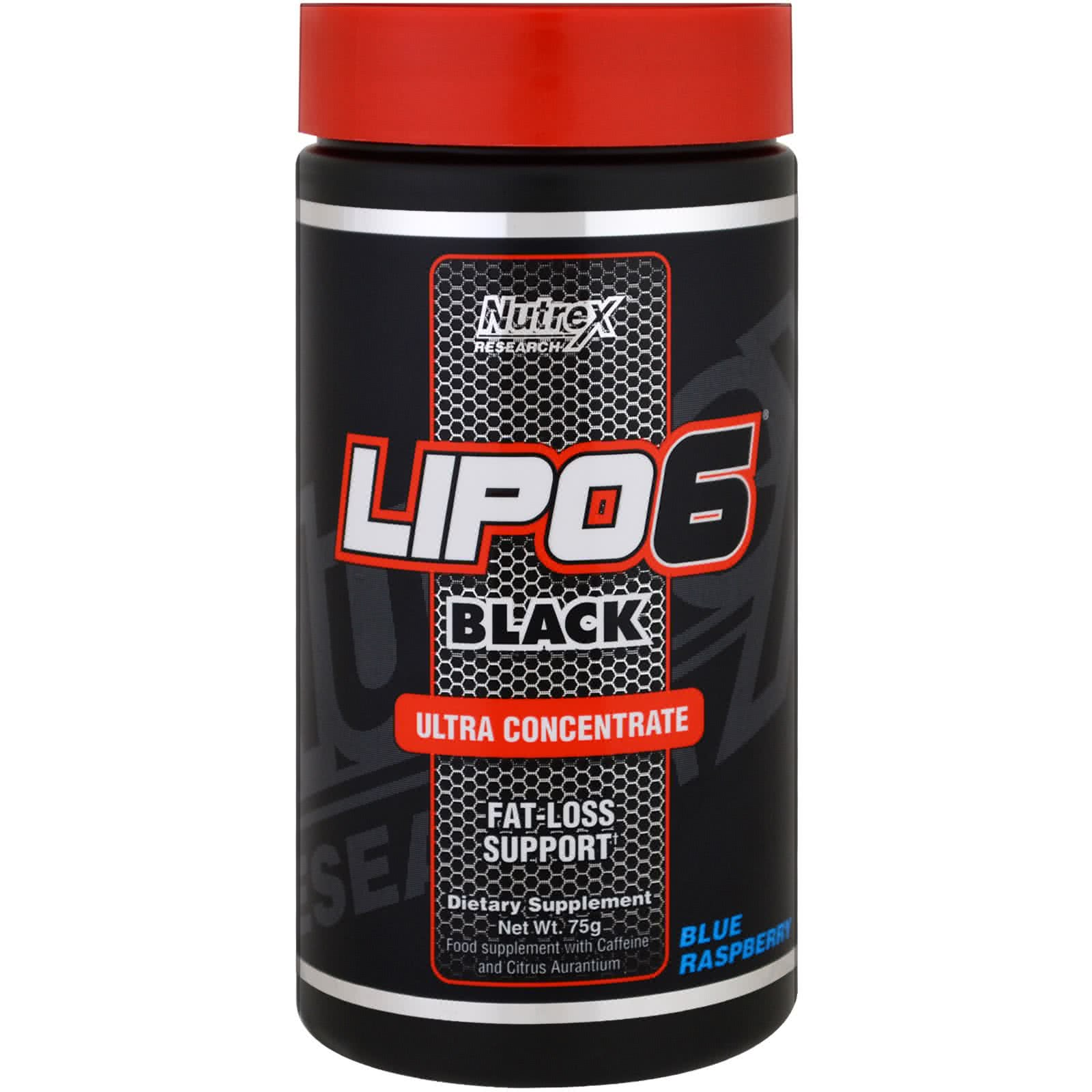 NutreX Lipo 6 Black Ultra Concentrate Powder 75 gr.