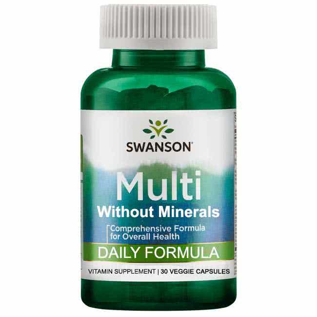 Swanson Daily Multi-vitamin 30 caps.