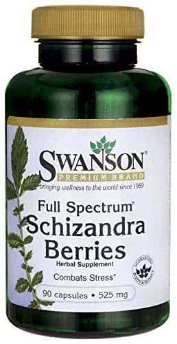 Swanson Full Spectrum Schizandra Berries 90 caps.