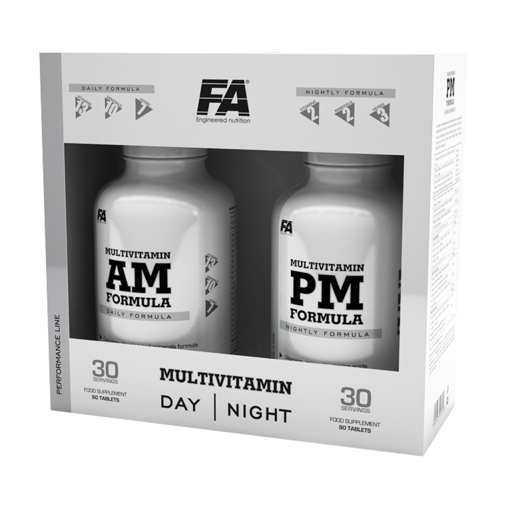 Fitness Authority MultiVitamin AM + PM 90+90 tab.
