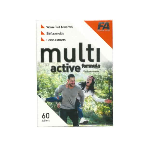 Fitness Authority Multi Active Formula 60 tab.