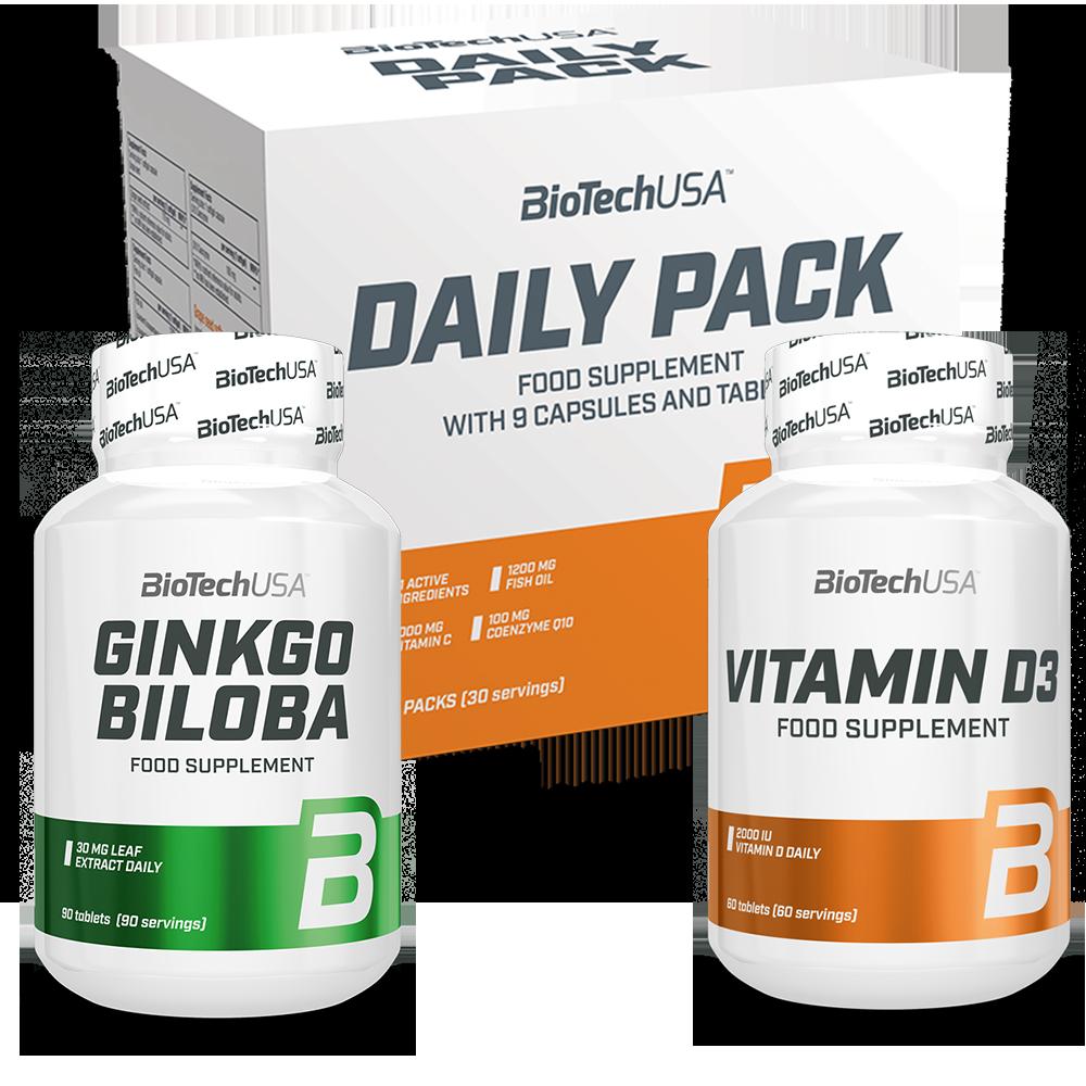 BioTech USA Spring vitamin stack set