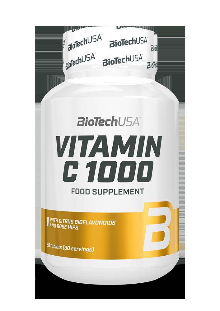 BioTech USA Vitamin C-1000 Bioflavonoids 30 tab.