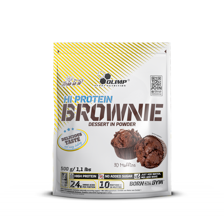 Olimp Sport Nutrition Hi Protein Brownie 0,5 kg