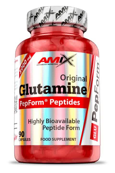 Amix PepForm Glutamine Peptides 90 caps.