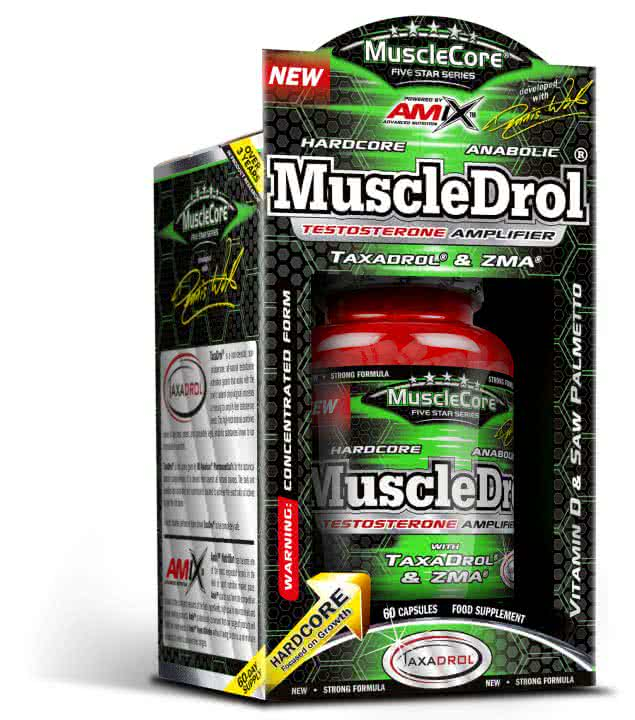 Amix MuscleDrol 60 caps.