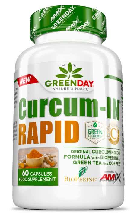 Amix GreenDay Curcum-IN Rapid 60 caps.