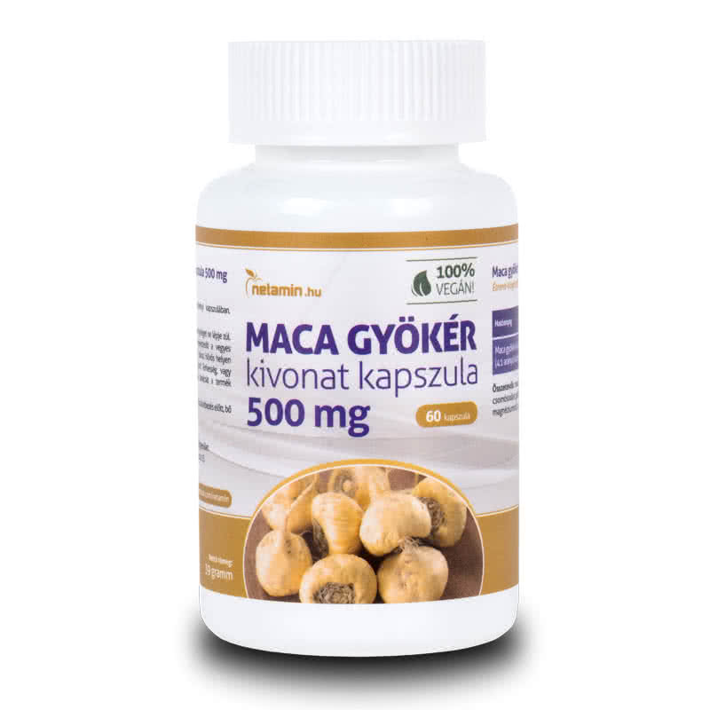 Netamin MACA Root extract 60 caps.