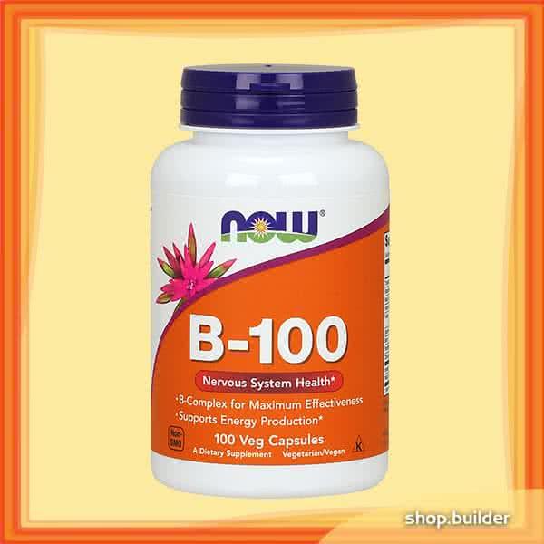 Now Foods B-100 100 caps.